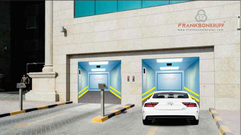 Frankson Car Elevator 1007